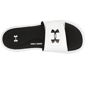 アンダーアーマー Under Armour スポーツ UA Ignite Vスライド サンダル 靴 スニーカー ロゴ 大きいサイズあり 流行 最新 メンズカジュアル ファッション フィットネス