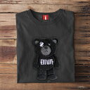 刺繍Tシャツ 3D刺繍 Tシャツ Tシャツ 半袖 T-shirts ボーダーシャツ 男性 オシャレ 40代 30代 ストリート メンズ tシャツ 大きいサイズ…
