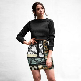 ペンシルスカート バロック ベロア タイトスカート ヴィンテージ スカート ベロア素材 大きいサイズ 20代 30代 お呼ばれ 二次会 スレンダーライン キャバ レトロ上品 被らない