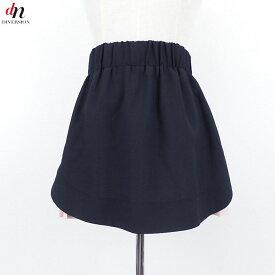 made in Heaven メイド イン ヘブン edie skirt ポリエステル プリーツ レイヤード イージー ミニスカート BLACK ONE 【中古】 DN-3528