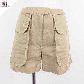 IENA イエナ ビッグポケット Aラインショーツ ショートパンツ 36 【中古】 DN-4016