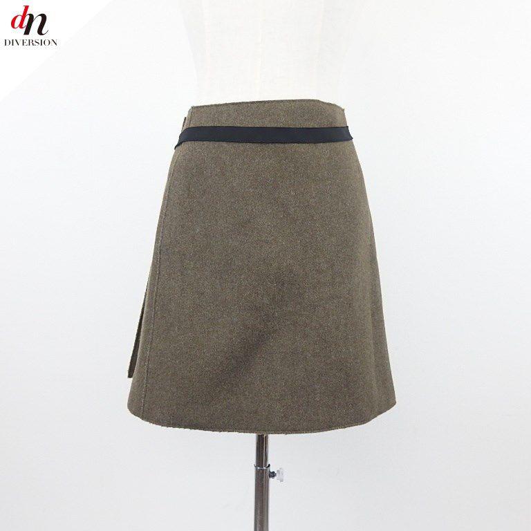 Jil Sander ジル サンダー ラップスカート 巻きスカート 34 【中古】 DN-4050