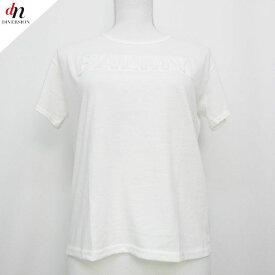 Andemiu アンデミュウ 半袖 BALMY エンボスロゴ TEE Tシャツ カットソー WHITE 【中古】 DNS-1163
