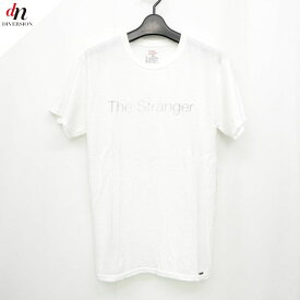The Letters 3D soft texture decorative construction art Hanes ザ レターズ コットン 半袖 The Stranger ロゴ TEE Tシャツ カットソー WHITE S 【中古】 DNS-1427