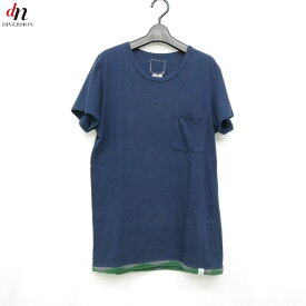 14SS visvim ビズビム CROCHET HEM TEE S/S VINTAGE SLUB Tシャツ 【中古】 DNS-2456