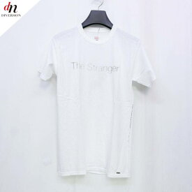 The Letters 3D soft texture decorative construction art レターズ The Stranger プリント Tシャツ WHITE S 【中古】 DNS-3210