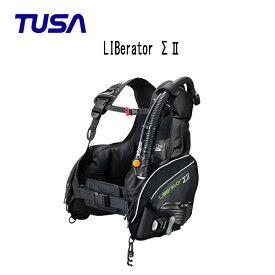 TUSA (ツサ) BC LIBerator ΣII(リブレータ・シグマ2) BC0101B メンズ レディース 男性 女性 男女兼用 ダイビング・メーカー在庫確認します