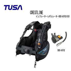 TUSA (ツサ) BC CRESTLINE クレストライン インフレーターレギュレーターDUO-AIRII付き BC0601A メンズ レディース 男性 女性 男女兼用 ダイビング・メーカー在庫確認します