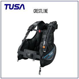TUSA (ツサ) BC CRESTLINE (クレストライン) BC0601B メンズ レディース 男性 女性 男女兼用 ダイビング・メーカー在庫確認します