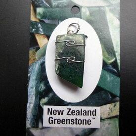 ニュージーランドグリーンストーン クリスタルペンダントK.Angel's