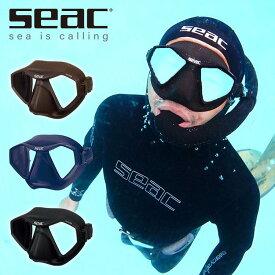 シアック/SEAC M70 マスク スキンダイビング 素潜りダイビング