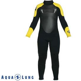 AQUALUNG/アクアラング ウェットスーツ スーパーストレッチ 3mm フルスーツ キッズ用 ウエットスーツ[50205015]