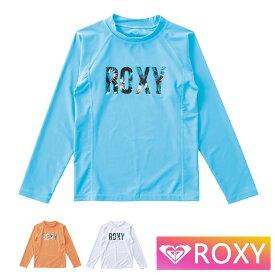 ROXY ラッシュガード 長袖 キッズ ジュニア 子供用 MINI BOTANICAL LOGO TLY191106 ロキシー