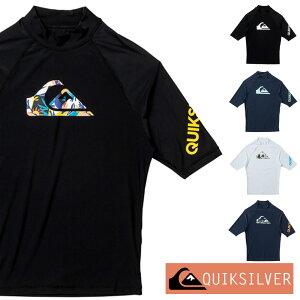 QUIKSILVER クイックシルバー ラッシュガード メンズ 半袖 ALL TIME SR QLY201071