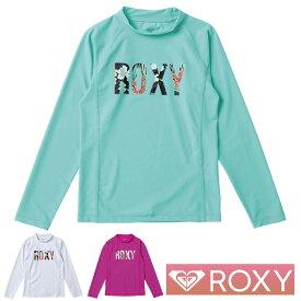 ROXY ロキシー 子供 ラッシュガード 長袖 キッズ ジュニア MINI BOTANICAL LOGO L/S TLY201105