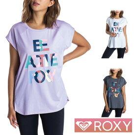 ROXY ロキシー ヨガウェア スポーツウェア レディース Tシャツ 半袖 ラッシュガード BE ACTIVE ROXY TEE RST201532
