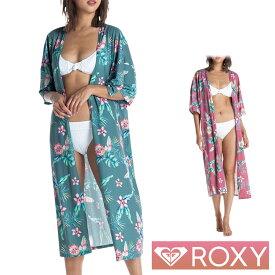 ROXY ロキシー 水着 レディース カーディガン ロング ガウン ラッシュガード TROPICAL FLOWER GOWN RLY202019