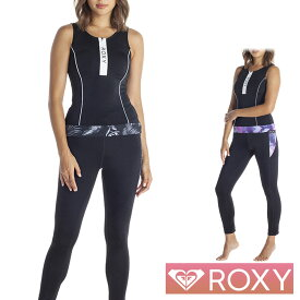ROXY ロキシー フィットネス水着 レディース 2点 セット セパレート フィットネス 水着 VALLEY RSW202519
