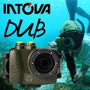 デジタルビデオカメラ INTOVA イントバ DUB SPORT ACTON CAM 防水 アクションカム 水中カメラ デジカメ アクションカメラ
