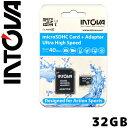 INTOVA micro SDカード 32GB Class 10 マイクロSDカード