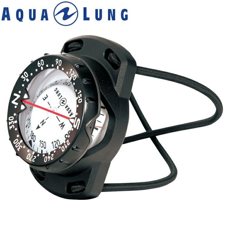 ダイビング コンパス AQUALUNG アクアラング プレシス バンジータイプ