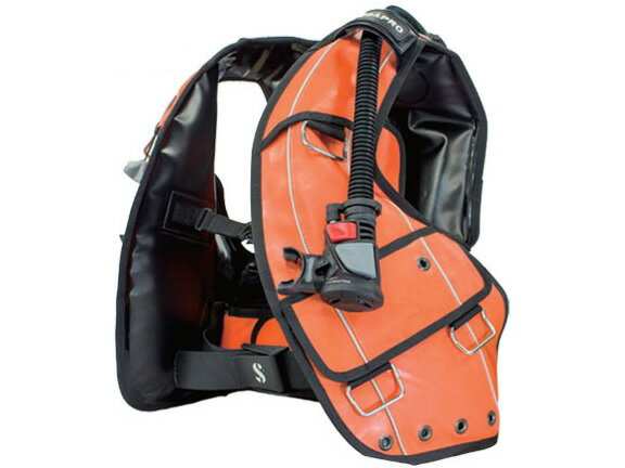 SCUBAPRO(スキューバプロ)CLASSIC ZERO G TPU ORANGE(クラシック ゼロ オレンジ)BCジャケット(BPI付き)