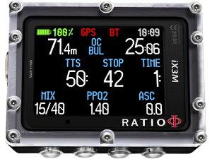 RATIO iX3M GPS Easy ダイブコンピュータ(レシオ アイ エックス スリー エム )