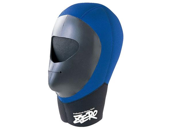 ZERO(ゼロ)3mm フード フルフェイス 2型(F-2型)■3J-SN ブラック