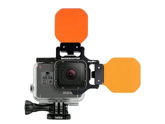 Fisheye(鱼眼)GoPro HERO6提板橙子过滤器小爵士乐队安排