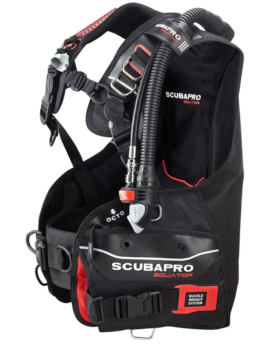 SCUBAPRO EQUATOR(スキューバプロ エクエイター) BCジャケット(BPI装備) [送料無料!]