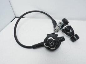 USED SCUBAPRO スキューバプロ MK25SA/S600 アルミ合金 レギュレター ランクAA [37215]