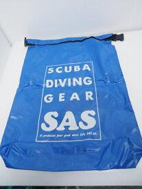 USED SAS エスエーエス ウォータープルーフバッグ ブルー 40×55cm ランクA [40657]