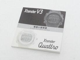 USED SCUBAPRO スキューバプロ X-tender V3/QUATRO エクステンダークアトロ ダイブコンピュータ用 取扱説明書 [40960]