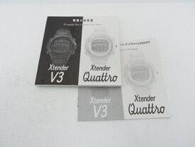 USED SCUBAPRO スキューバプロ X-tender V3/QUATRO用 取扱説明書 [41948]