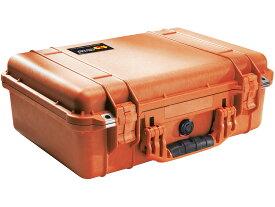 PELICAN(ペリカン)プロテクターケース 1500 EMSケース フォーム付 ORANGE [オレンジ][1500-005-150] ダイビング 救急用