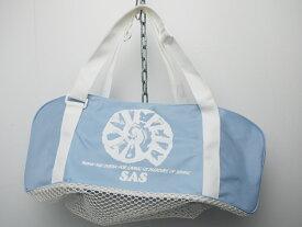 未使用 SAS エスエーエス ミニメッシュバッグ W56×H20×D20cm [J35815]