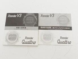 USED SCUBAPRO スキューバプロ X-tender V3/Quattro エクステンダークワットロ ダイブコンピュータ用取扱説明書 ランクA [35478]