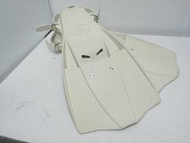 USED SCUBAPRO スキューバプロ JET FIN REVO ジェットフィン レボ ベルーガホワイト サイズ:レギュラー(25-27cm)ランクAA[37068]