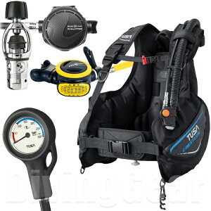TUSA BC0601B / アクアラング カリプソ 超特価重器材セット!