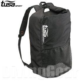 tusa sport(ツサスポーツ) UA0302 メッシュバックパック 縦型デザインシュノーケル用品一式収納 メッシュバッグ シュノーケリング スノーケリング