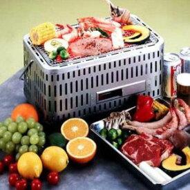 バーベキューコンロ 七輪 シチリン しちりん 卓上 角型 団炭 網付(フルサイズ) SC-392 焼き肉 BBQコンロ キャンプ