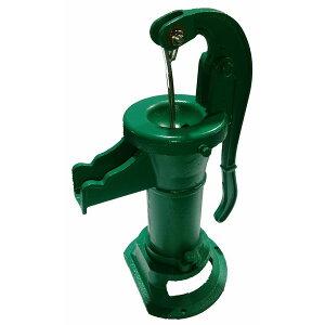 井戸ポンプ 手押しポンプ 東邦工業製 アメリカンカントリーポンプ カラー:グリーン (AC32F) ガーデンポンプ 小型