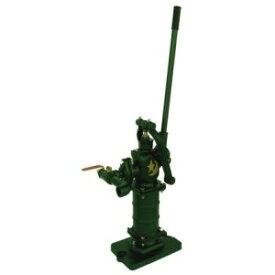 井戸ポンプ 手押しポンプ 東邦工業製 TB式月星昇進ポンプ 鉄製台付きタイプ (SY35SCF) 掘り井戸用