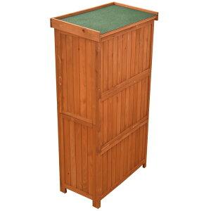 物置収納庫木製ブラウンオーデンII