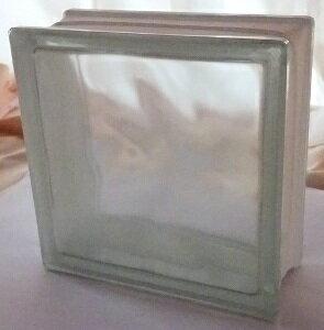 【在庫限り】ボヘミア・チェコ産 ガラスブロック 190mm角×80mm(2.4kg)【クリスタル サハラ】 Theバーゲン