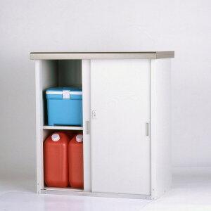 【送料無料】収納庫 幅92cm 高さ100cm HMG-910 家庭用 小型物置