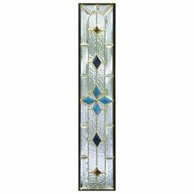 【送料無料】【代引不可】 ステンドグラス (SH-G02) 一部鏡面ガラス 913×177×18mm デザイン ピュアグラス Gサイズ (約5kg) ※代引不可