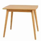 ダイニングテーブル80cmナチュラル(07293)木製ユーリクロシオ※北海道・沖縄・離島送料別途見積