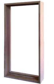 ステンドグラス専用木枠 SH-A用 (室内用) タモ集成材 SHF-ZA1 ※代引不可