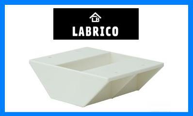 LABRICO(ラブリコ) 2×4 棚受ダブル オフホワイト(DXO-3)